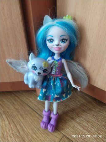 Энчантималс волк волчица кукла куколка животное enchantimals барби