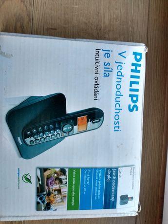 Telefon stacjonarny bezprzewodowy Philips