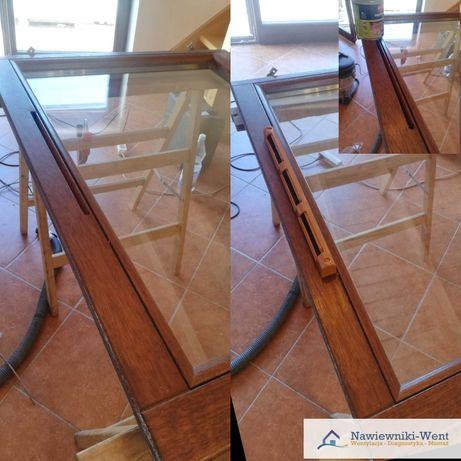 Montaż Nawiewniki okienne/ścienne  w oknach PCV i drewnianych.