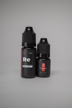 Пигменты для перманентного макияжа / татуажа губ Red