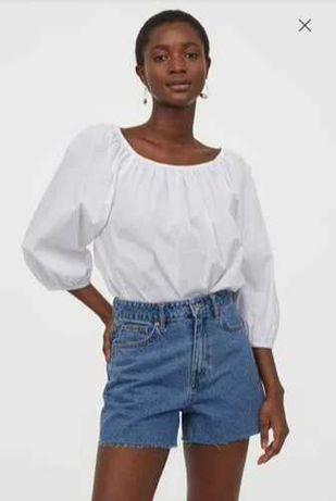 Шорты джинсовые женские h&m