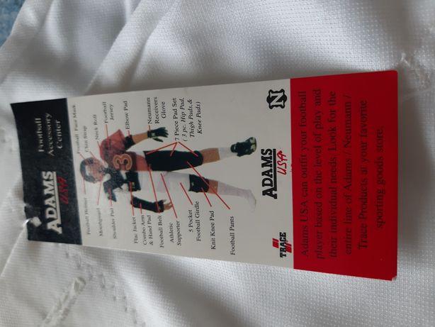 Spodnie do futbolu amerykańskiego firmy Adams, rozmiar XXL
