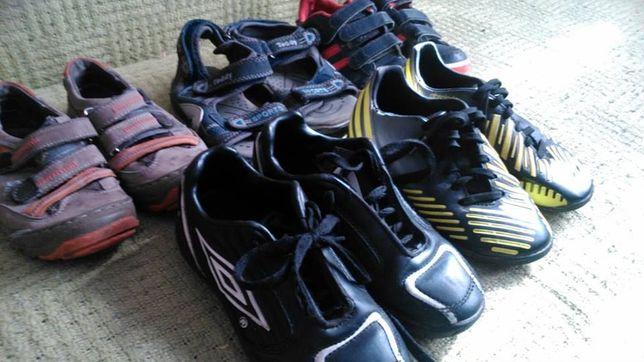 Umbro, adidas, inne, zestaw butów, r 29