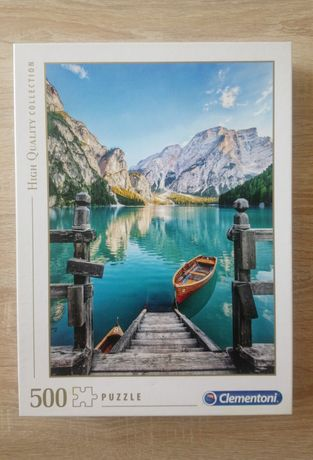 Puzzle Clementoni 500 el., jezioro