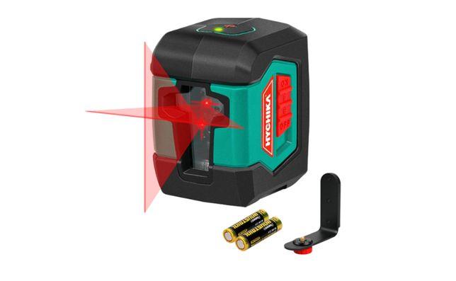 Nível Laser / Nivelador 2 Linhas com suporte magnético IP54 Novo