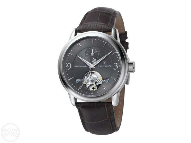 Relógio Automático Thomas Earnshaw Regency open heart