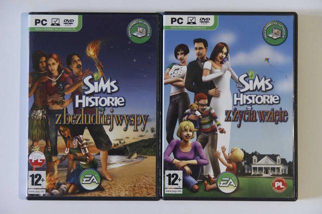 The Sims 2 historie z bezludnej wyspy + historie z życia wzięte