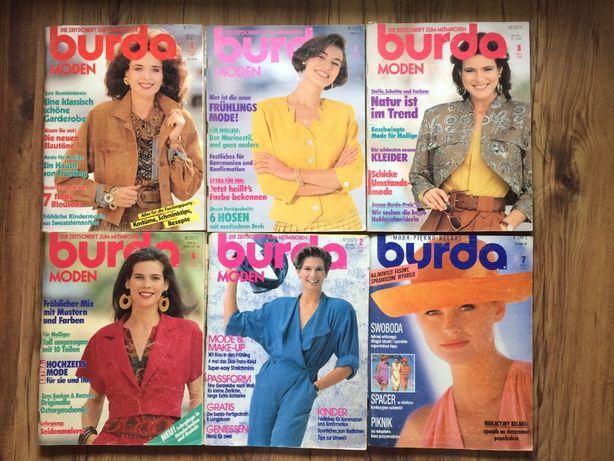 Burda - numery archiwalne niemieckie i polskie lata 1990_2003