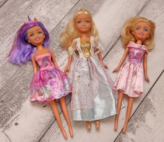 Zestaw 3 lalek lalka Barbie Glimma Girlz