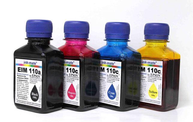 Чернила, краска для принтер EPSON, CANON, HP