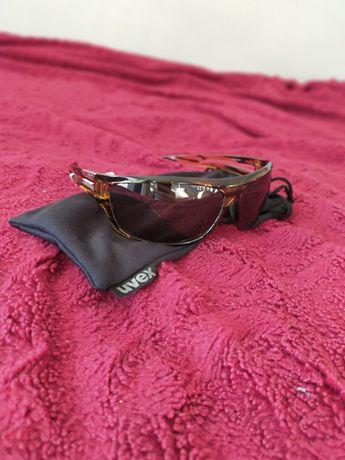 Okulary sportowe UVEX nowe