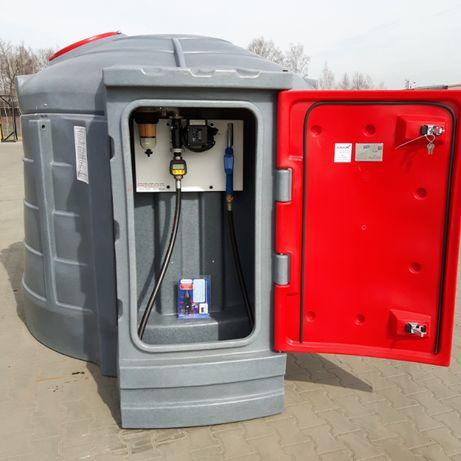 System zarządzania monitoring Zbiornik 5000 litrów na paliwo czip kart