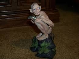 Lord of the Rings, Hobbit Smeagol-Gollum Statue