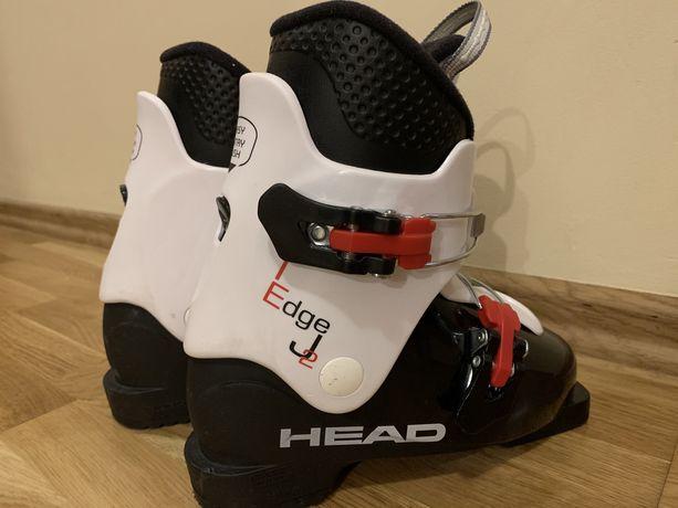 Buty narciarskie Head Edge J 2 Black - White MP 205