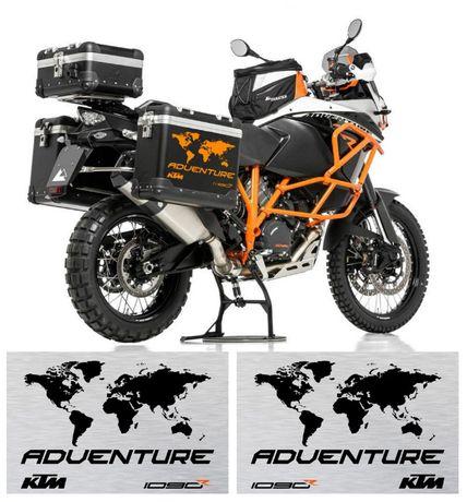 Kit autocolantes p/ Malas KTM Adventure