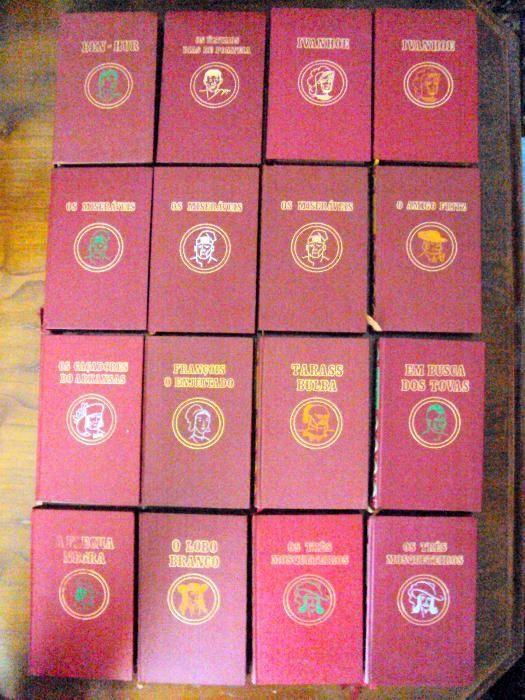 Coleção de 14 livros de grandes histórias Mesão Frio (Santo André) - imagem 1