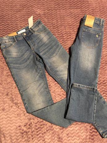 Стрейчевые джинсы на девочку