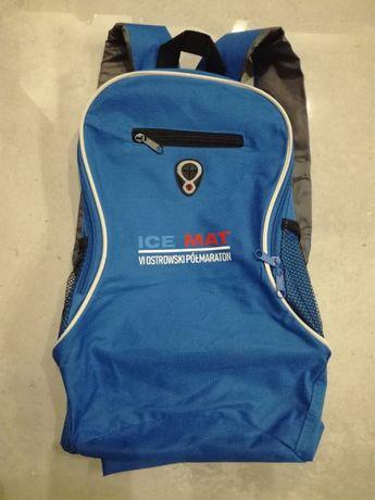 Niebieski mały plecak
