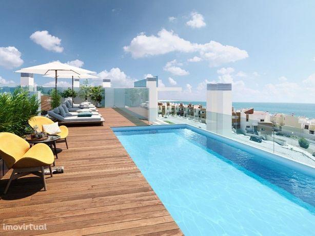 Apartamento T2 de luxo em empreendimento com Piscina em f...