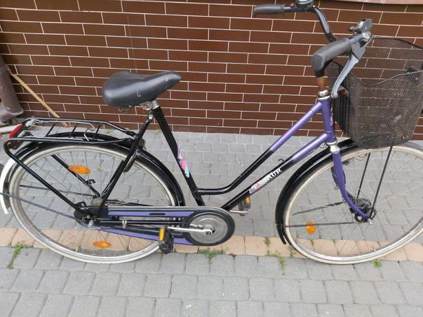 Rower miejski Holenderski Używany z niemiec koła 28