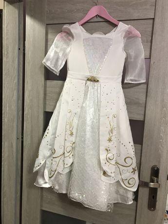 Suknia sukienka na bal arielka, mala syrenka