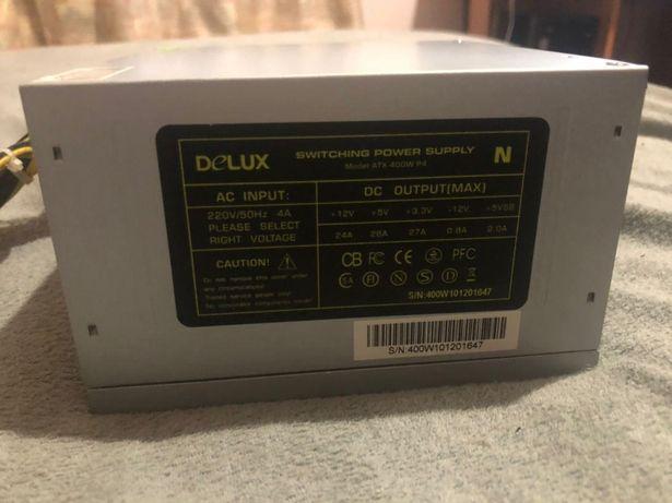 Блок живлення Delux 400w