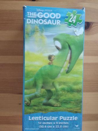 Puzzle trójwymiarowe Dobry dinozaur 24 el