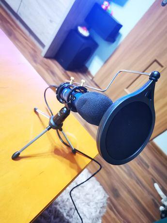 Profesjonalny Mikrofon Eivotor do PC, Tableta, Laptopa, Smartfon