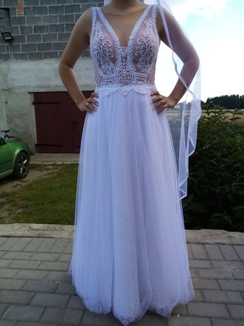 Okazja! Sukienka ślubna.