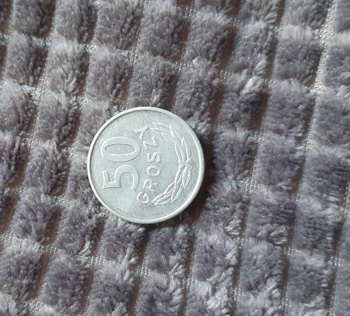 Moneta 50 groszy RZADKA z 1987 roku