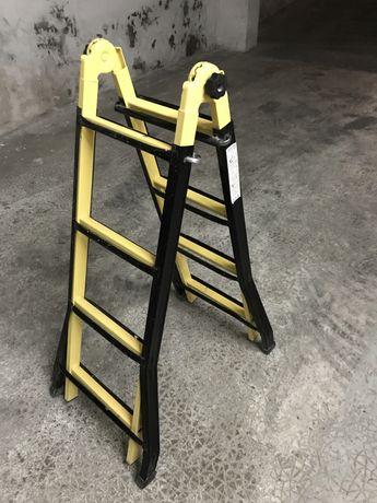 Escada escadote cavalete