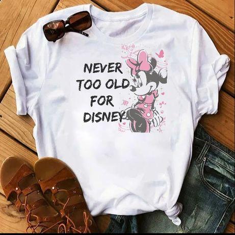 Koszulka t-shirt Disney postacie Minnie Miki Mouse S-XXL