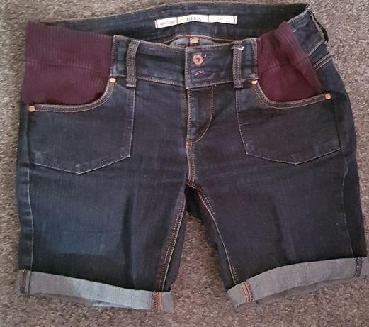 Spodenki jeansowe ciążowe rozm. 38