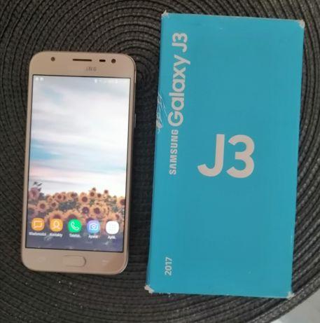 Telefon Samsung J3 złoty, sprawny