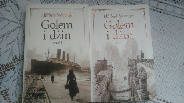 Książki Golem i dżin, Helene Wacker