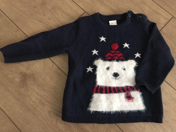 sweterek zimowy h&m