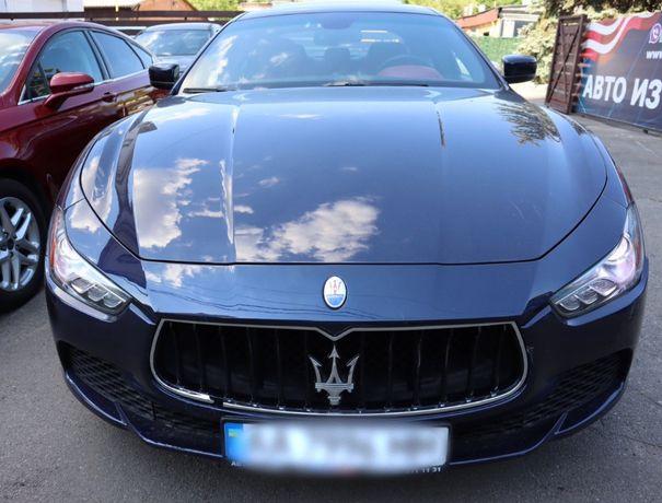 Maserati Ghibli 2016 на площадке в КИЕВЕ