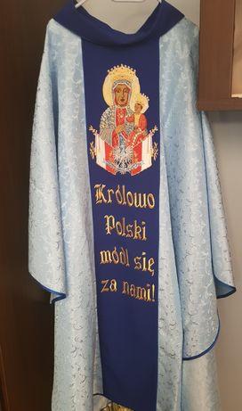 Ornat Maryjny niebieski