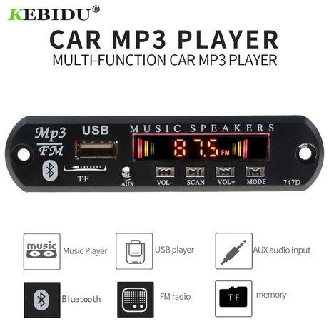 Placa Rádio MP3 com Bluetooth SD USB FM AUX JACK 3.5
