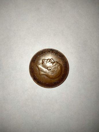 Англия : 1936г. 1 пенни