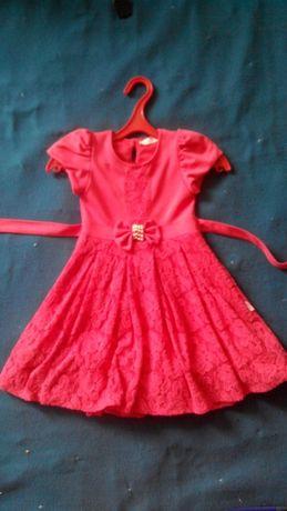 Платье и болеро на 5-6 лет.