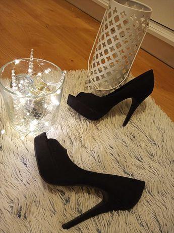 Buty szpilki czarne rozmiar 39 nowe