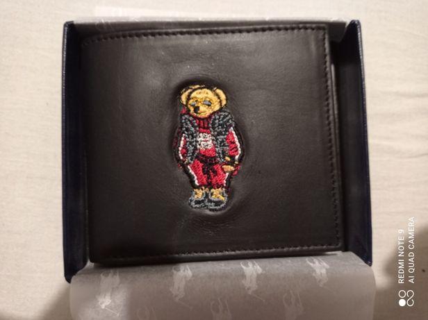 Portfel czarny Ralph Lauren