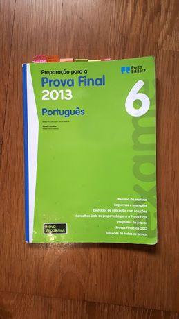 Preparação para a Prova Final Português - 6.º Ano