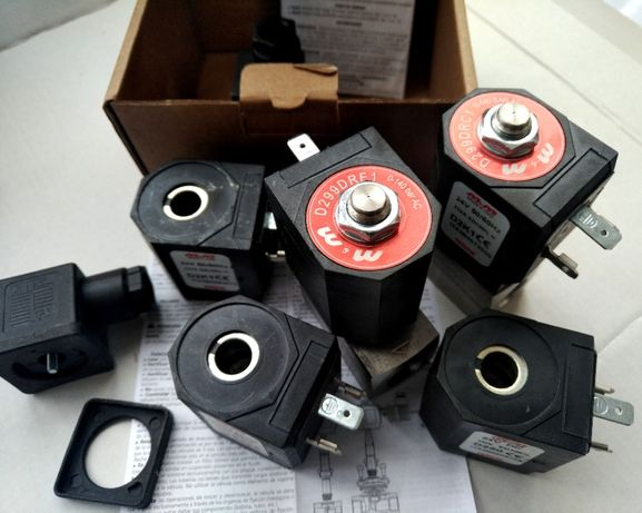 Електромагнітний клапан ,катушки (мийки самообслогувування) М&M Італія