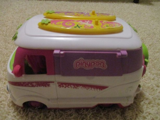 Auto samochód kamper dla lalek Pinypon