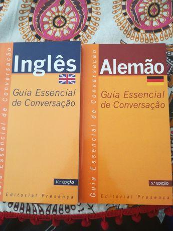 Inglês e alemão Guia essencial de conversação