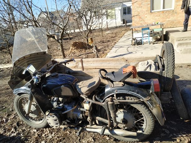 Мотоцикл К 750 с документами