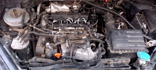 Silnik kompletny 1.6 tdi CLH CLHA 105km vw seat skoda audi