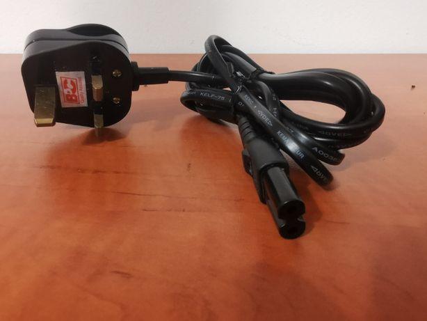 Kabel zasilający angielski 2PIN-UK 1.8m 230V